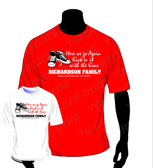 Tshirt T Shirt Order Form For Family Reunion on we are, templates for sale, slogans for, heart design,